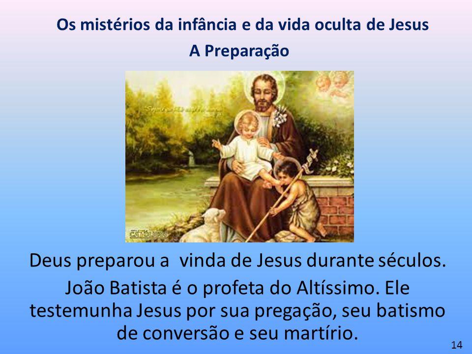 Os mistérios da infância e da vida oculta de Jesus