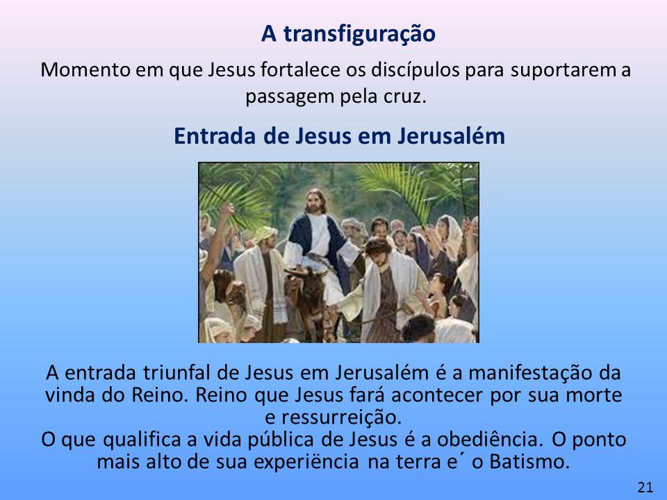 Entrada de Jesus em Jerusalém