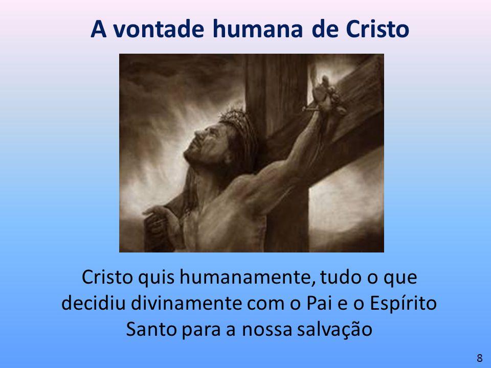 A vontade humana de Cristo