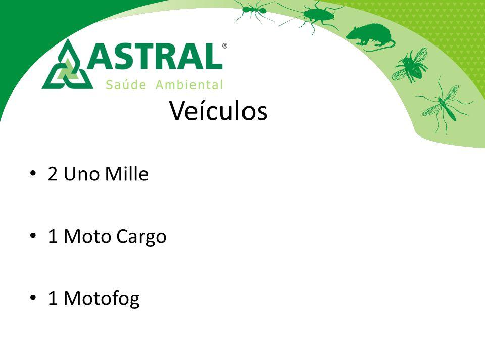 Veículos 2 Uno Mille 1 Moto Cargo 1 Motofog