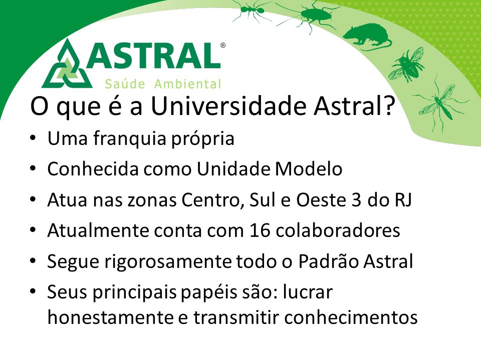 O que é a Universidade Astral
