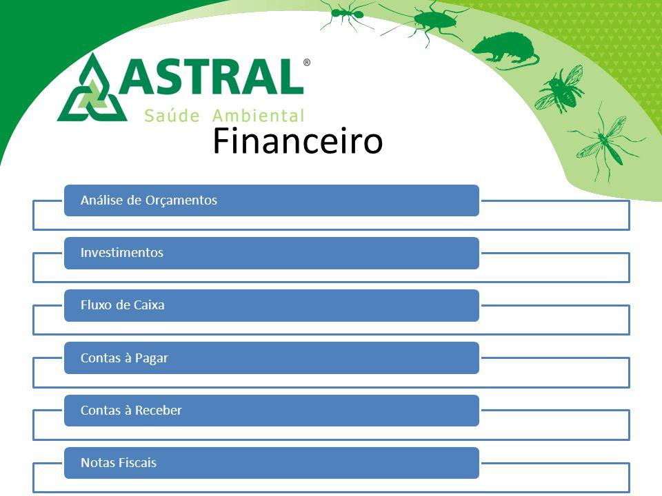 Financeiro Análise de Orçamentos Investimentos Fluxo de Caixa