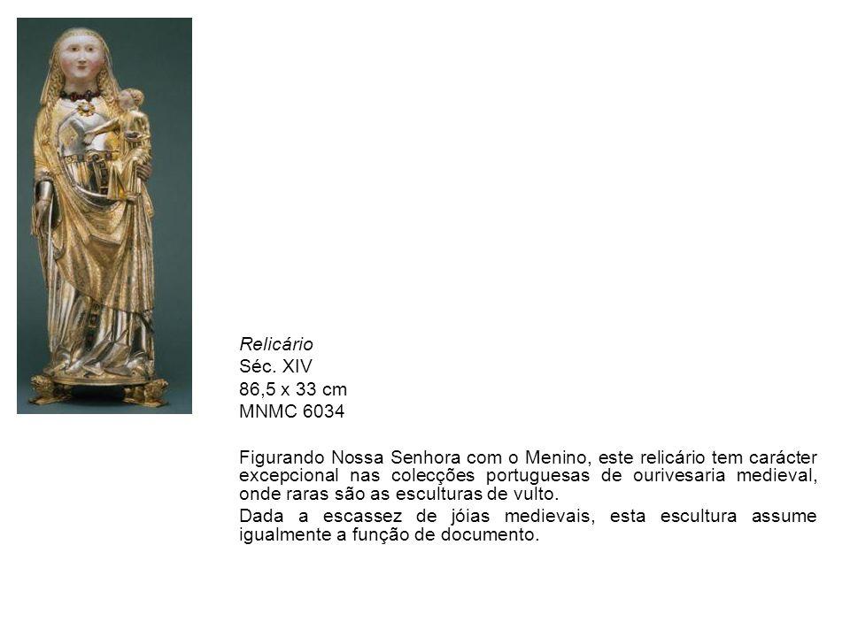 Relicário Séc. XIV. 86,5 x 33 cm. MNMC 6034.