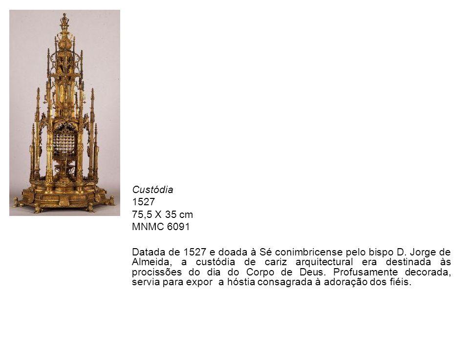 Custódia 1527. 75,5 X 35 cm. MNMC 6091.