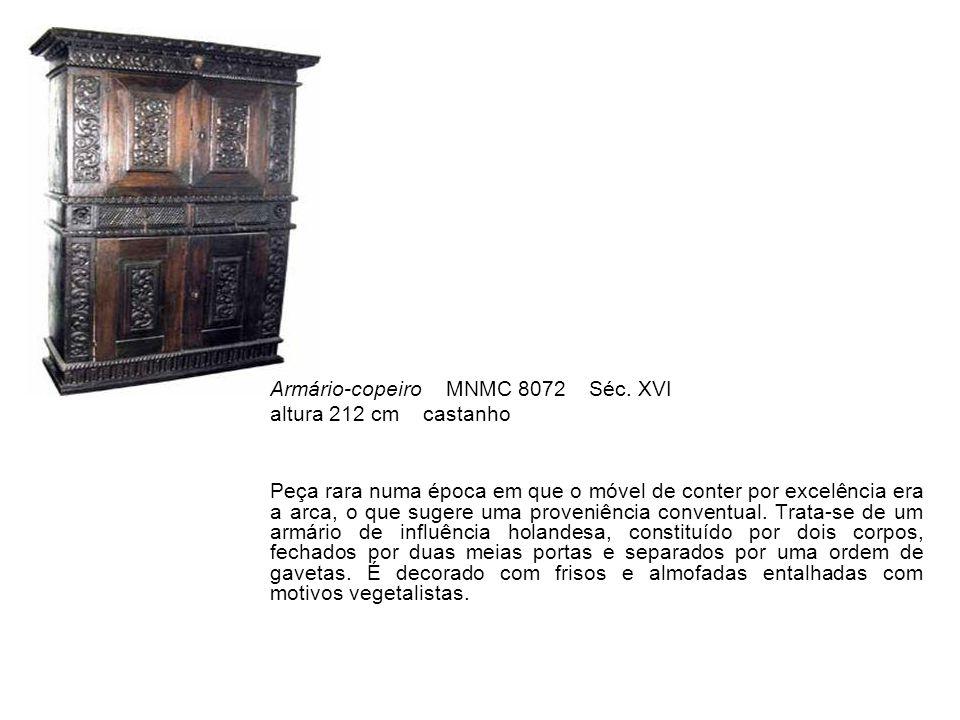 Armário-copeiro MNMC 8072 Séc. XVI