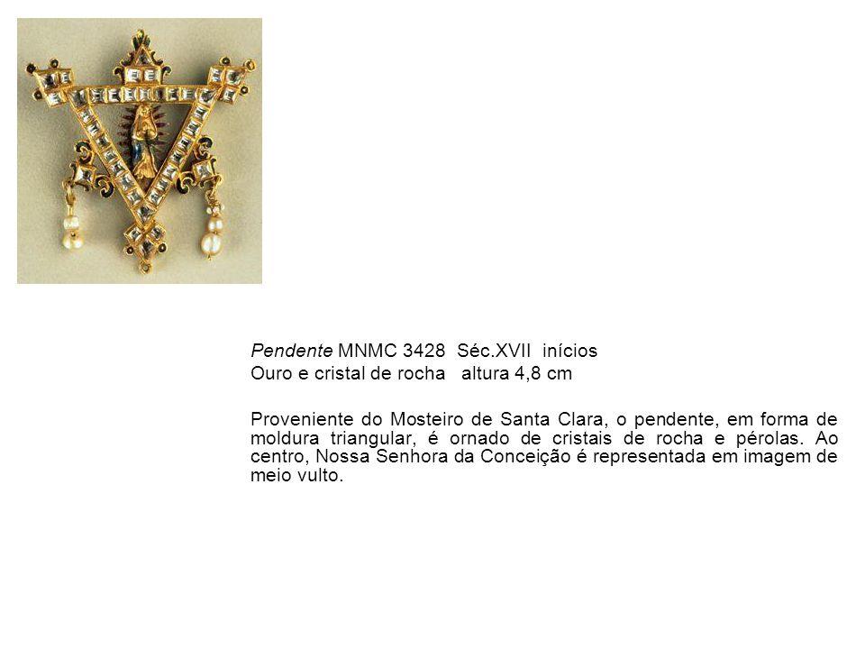 Pendente MNMC 3428 Séc.XVII inícios