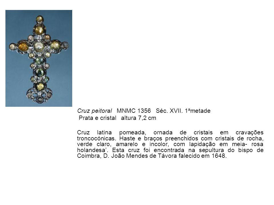 Cruz peitoral MNMC 1356 Séc. XVII. 1ªmetade