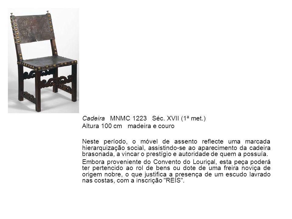 Cadeira MNMC 1223 Séc. XVII (1ª met.)