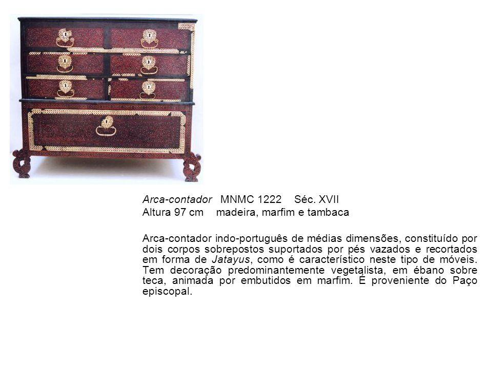 Arca-contador MNMC 1222 Séc. XVII