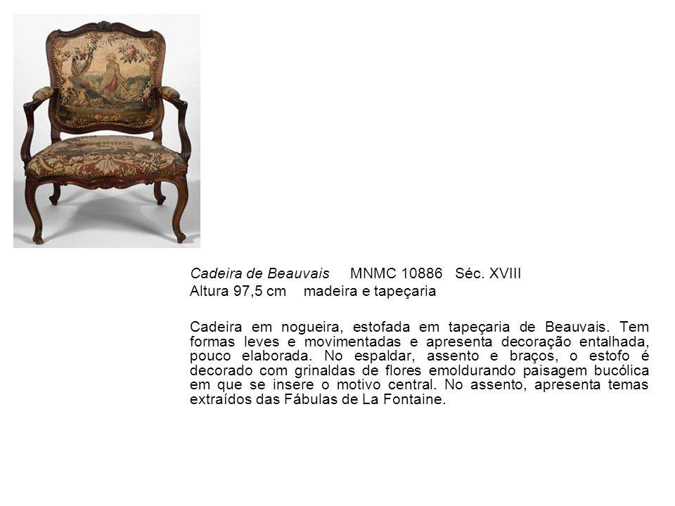 Cadeira de Beauvais MNMC 10886 Séc. XVIII