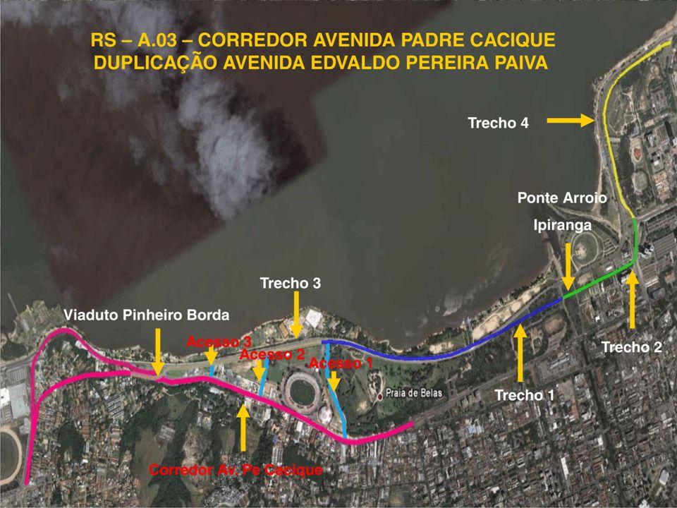 Duplicação da Av. Edvaldo Pereira Paiva/Corredor da Padre Cacique