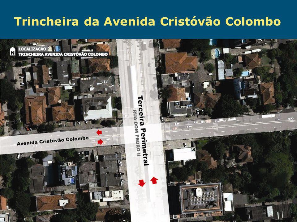 Trincheira da Avenida Cristóvão Colombo