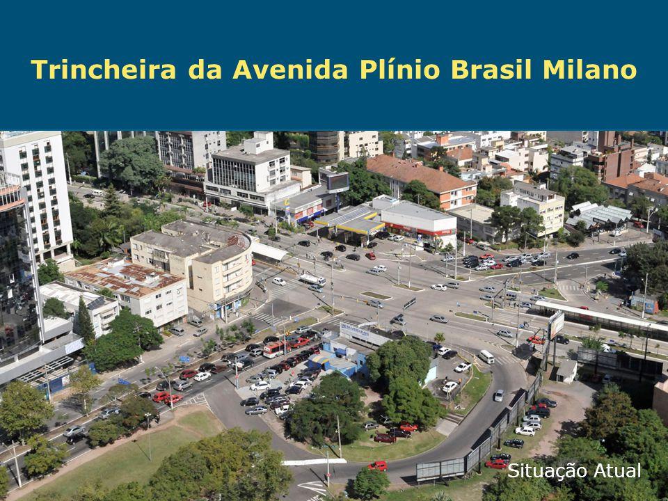 Trincheira da Avenida Plínio Brasil Milano