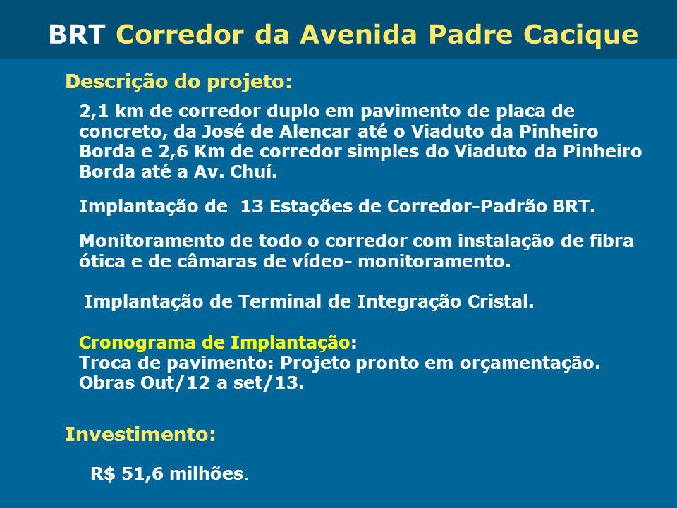 BRT Corredor da Avenida Padre Cacique