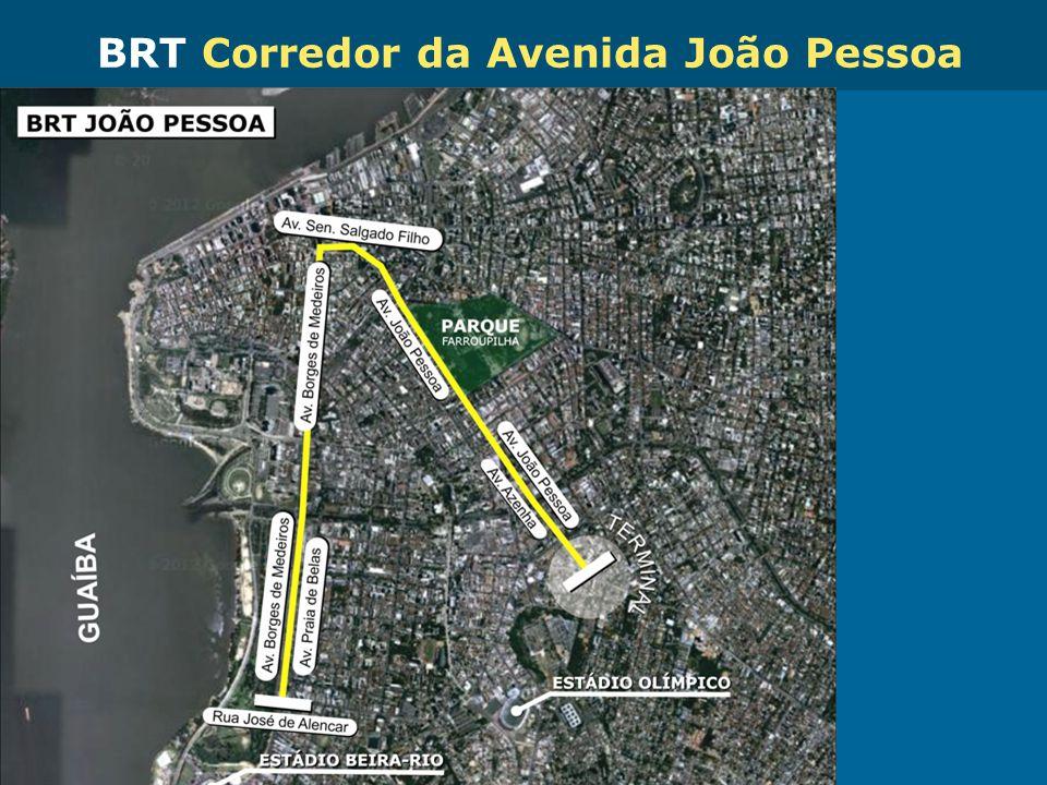BRT Corredor da Avenida João Pessoa