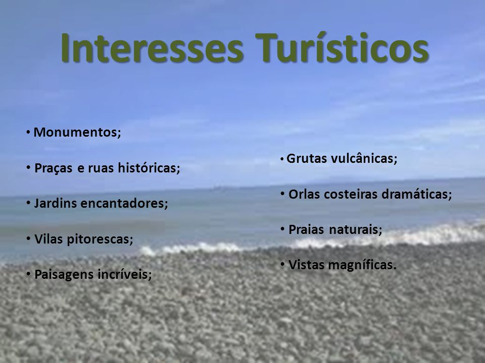 Interesses Turísticos