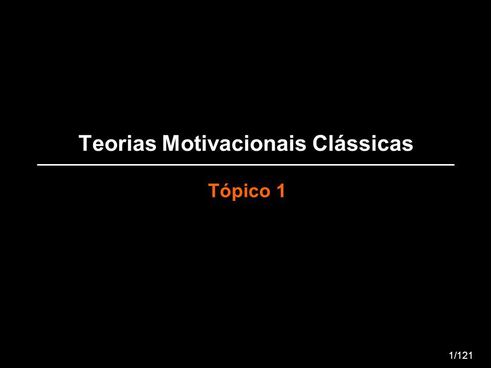 Teorias Motivacionais Clássicas