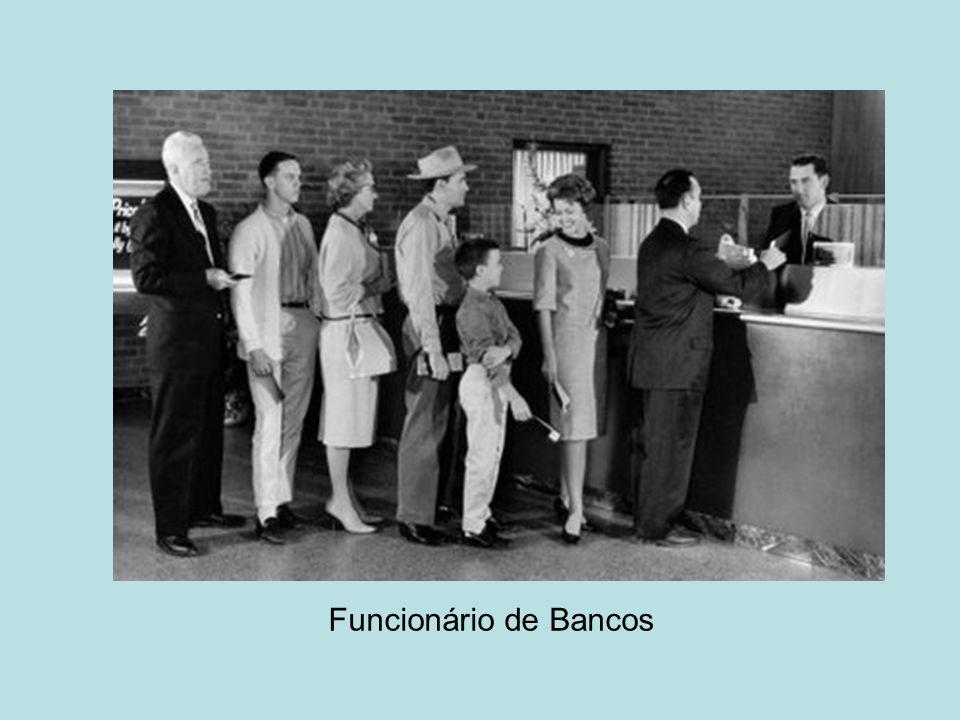Funcionário de Bancos