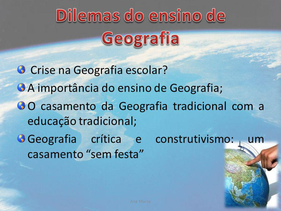 Dilemas do ensino de Geografia