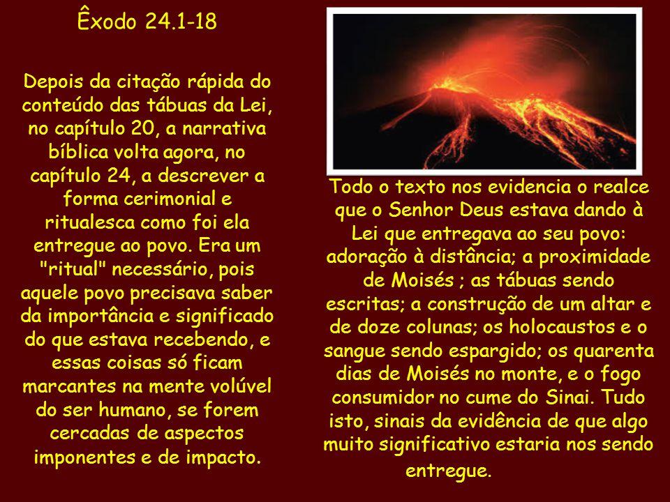 Êxodo 24.1-18