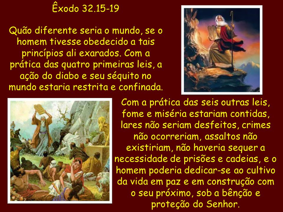 Êxodo 32.15-19