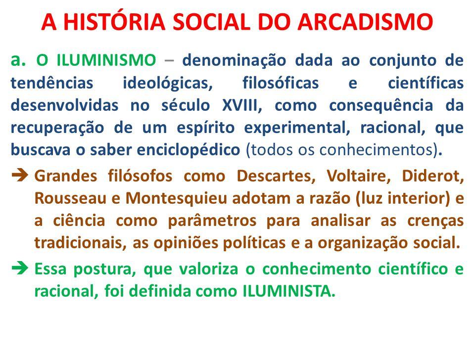 A HISTÓRIA SOCIAL DO ARCADISMO