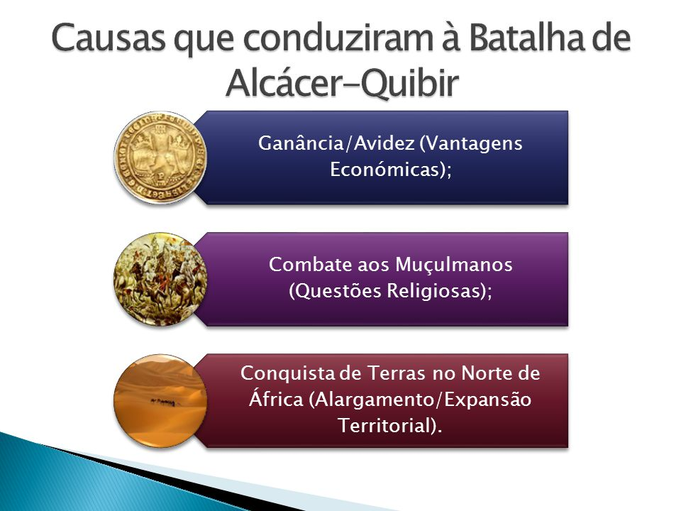 Causas que conduziram à Batalha de Alcácer-Quibir