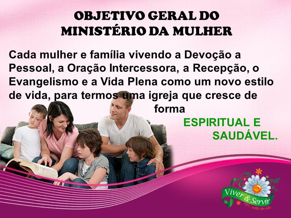 OBJETIVO GERAL DO MINISTÉRIO DA MULHER