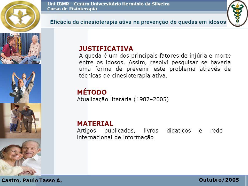 JUSTIFICATIVA MÉTODO MATERIAL