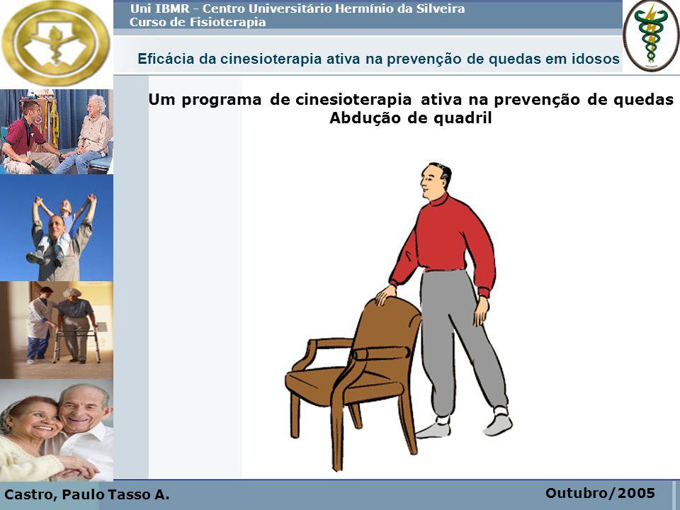 Um programa de cinesioterapia ativa na prevenção de quedas