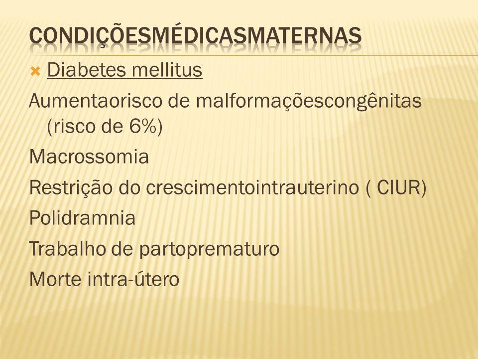 Condiçõesmédicasmaternas