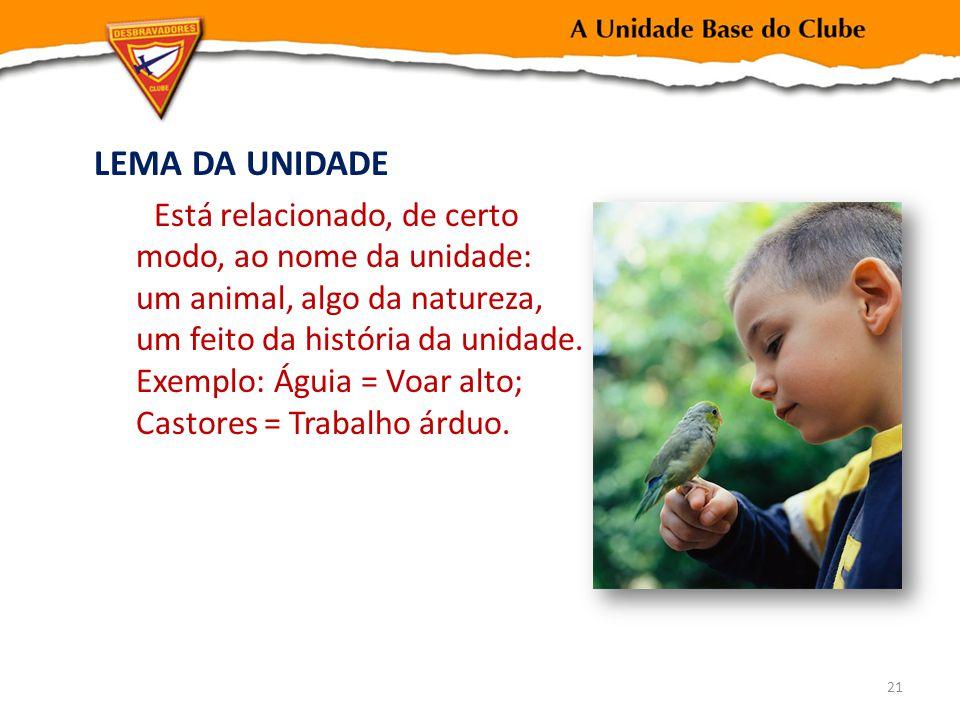 LEMA DA UNIDADE