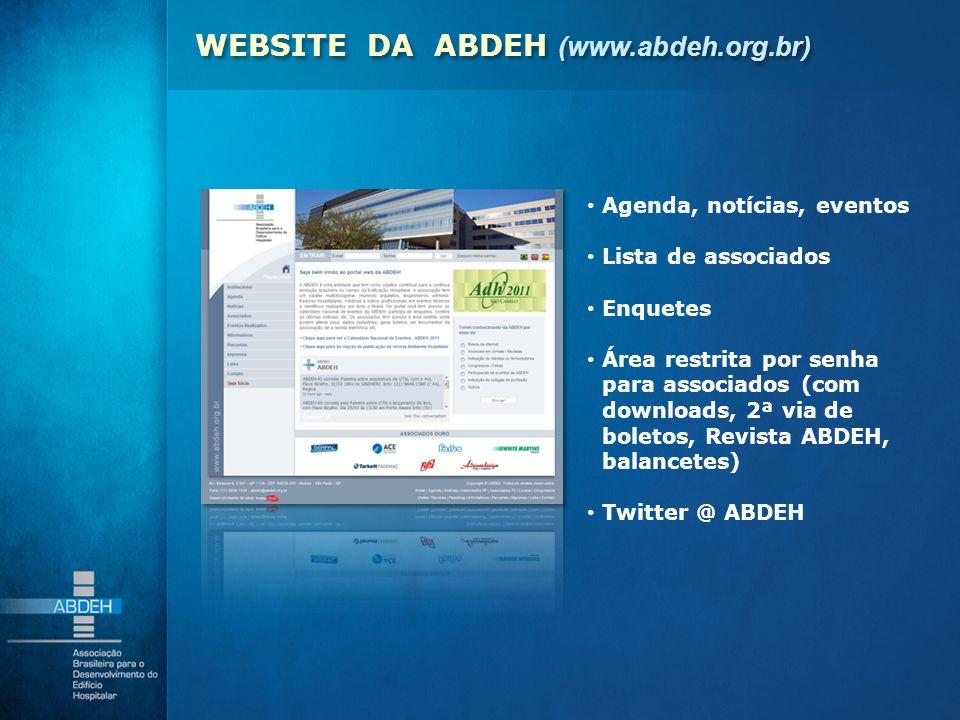 WEBSITE DA ABDEH (www.abdeh.org.br)