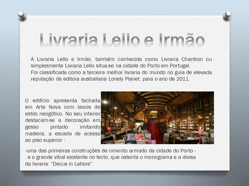 Livraria Lello e Irmão