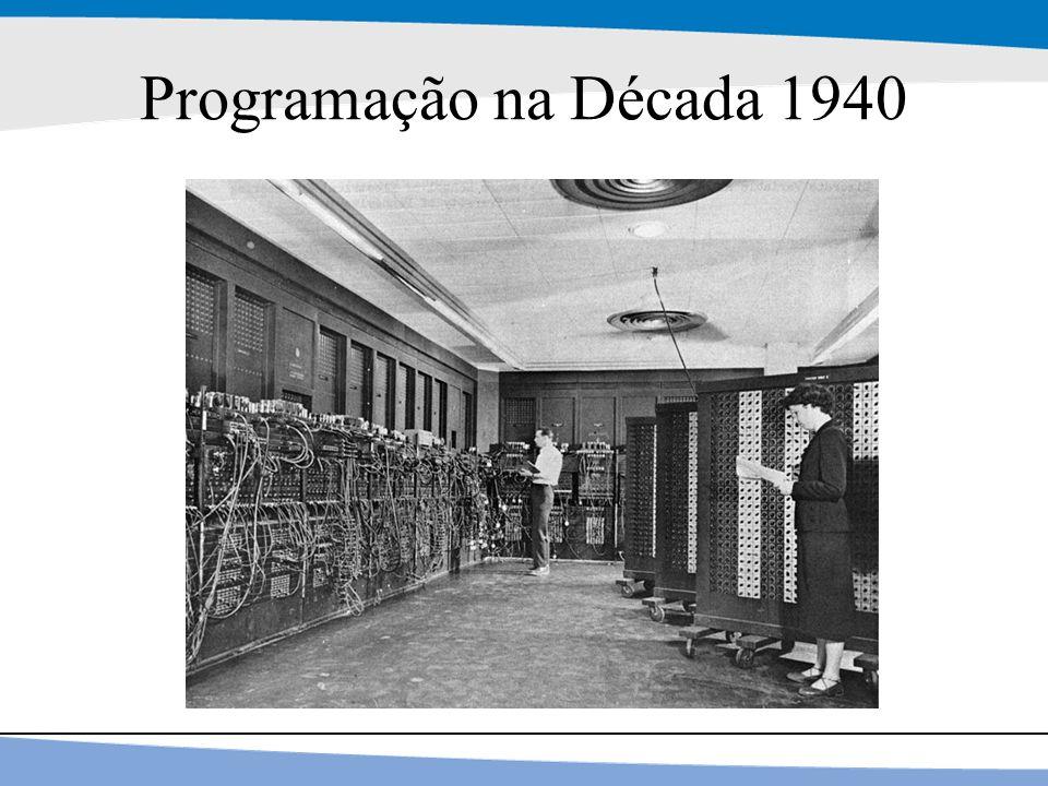 Programação na Década 1940