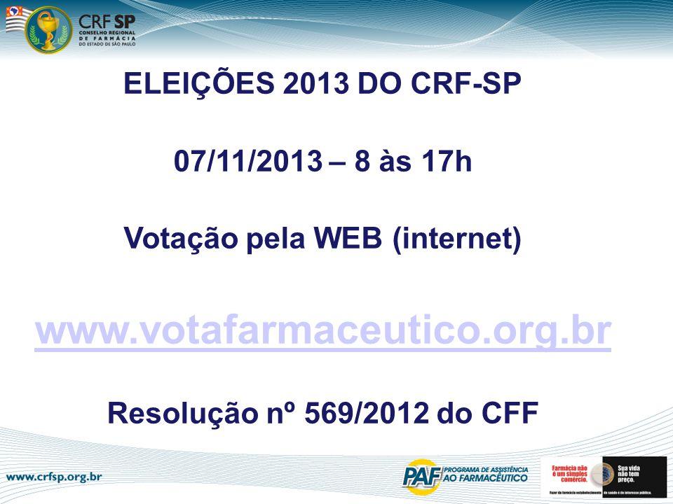 Votação pela WEB (internet)