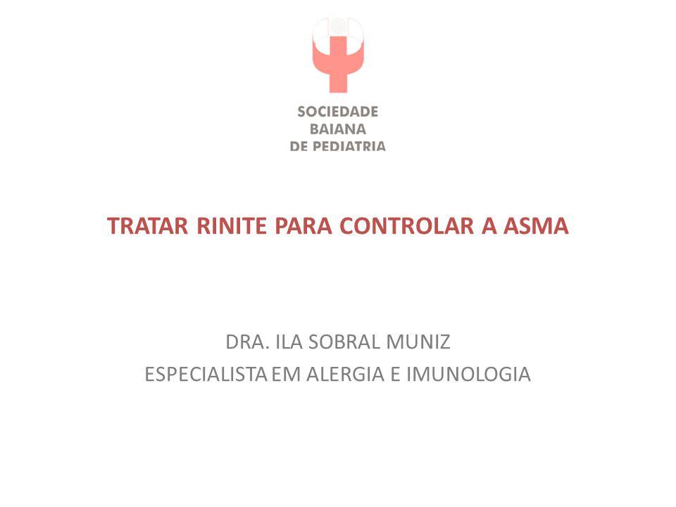TRATAR RINITE PARA CONTROLAR A ASMA