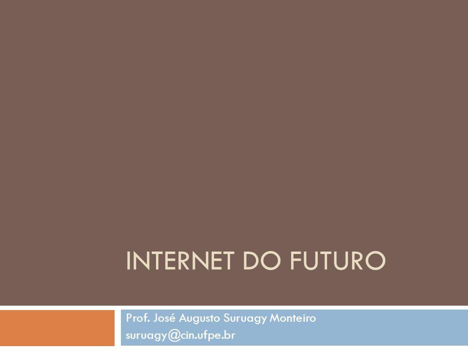 Prof. José Augusto Suruagy Monteiro suruagy@cin.ufpe.br