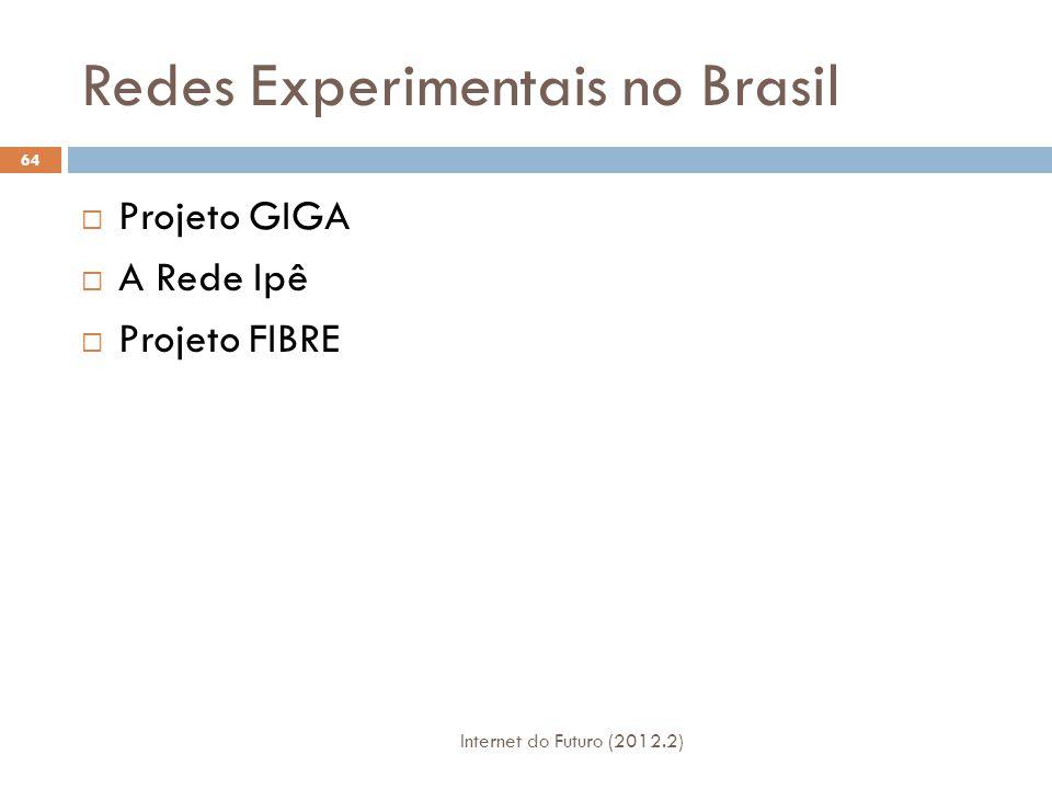 Redes Experimentais no Brasil