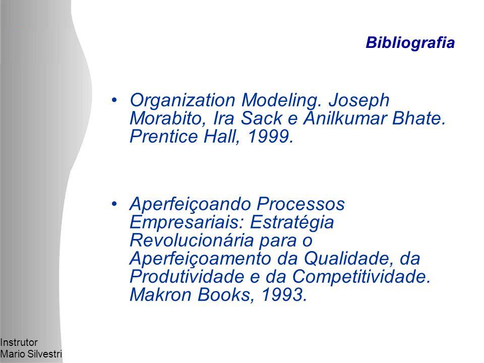 Bibliografia Organization Modeling. Joseph Morabito, Ira Sack e Anilkumar Bhate. Prentice Hall, 1999.