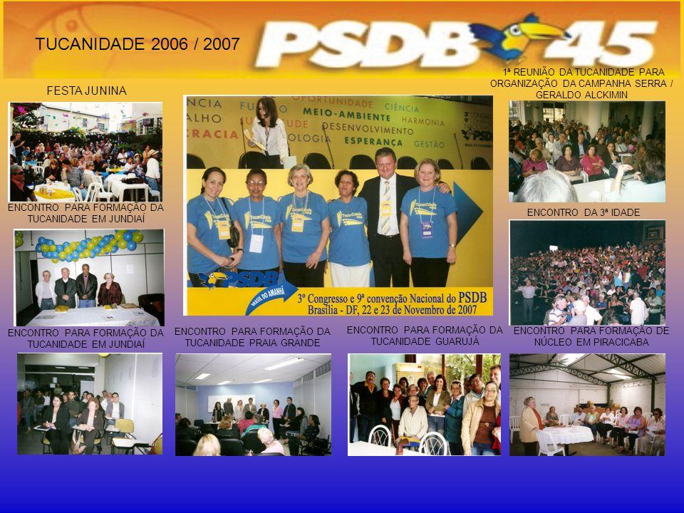 TUCANIDADE 2006 / 2007 FESTA JUNINA