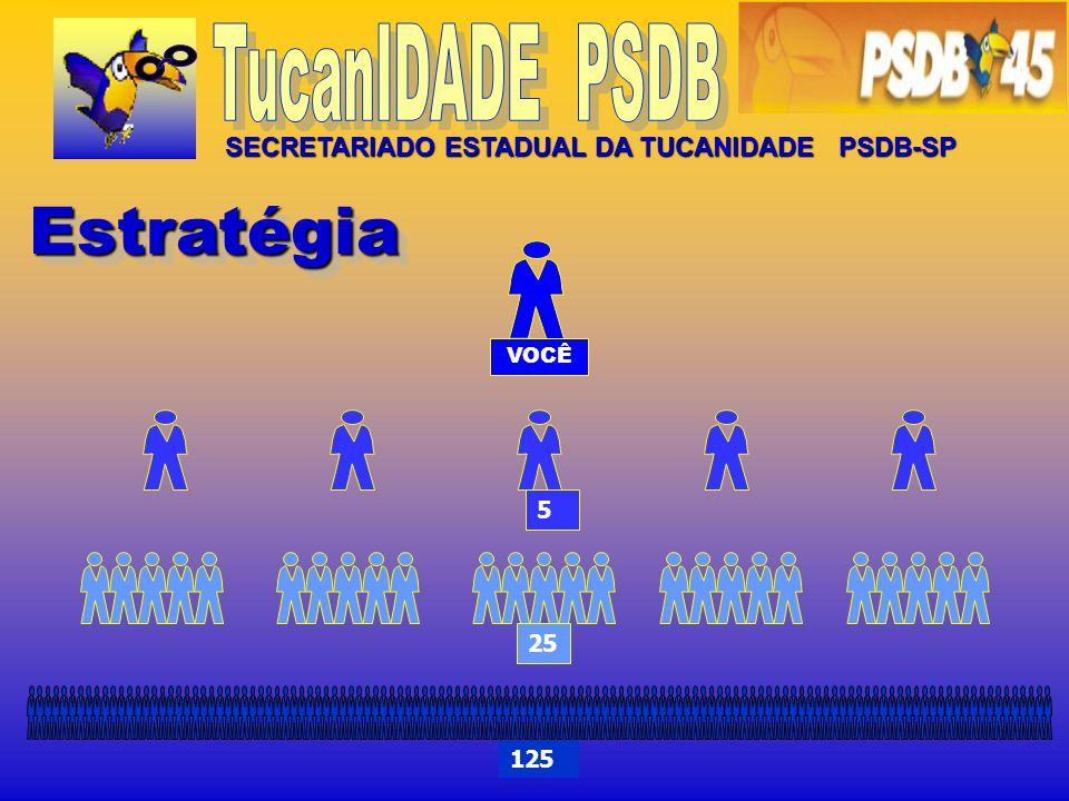 Estratégia TucanIDADE PSDB SECRETARIADO ESTADUAL DA TUCANIDADE PSDB-SP