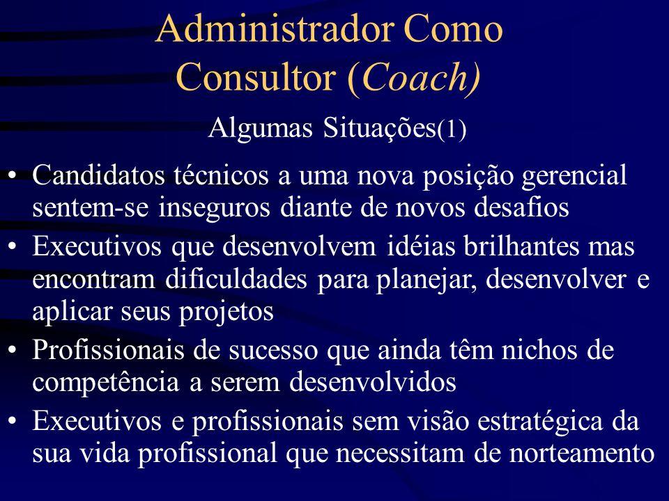 Administrador Como Consultor (Coach)