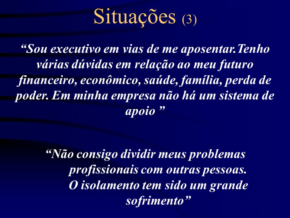Situações (3)
