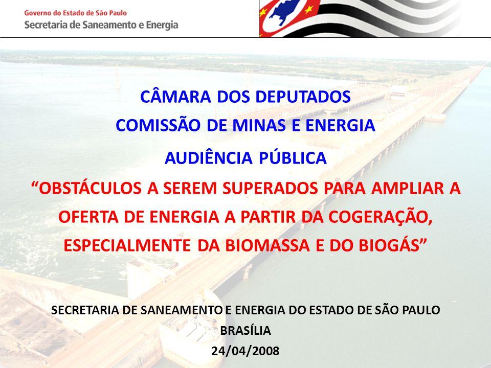 COMISSÃO DE MINAS E ENERGIA AUDIÊNCIA PÚBLICA