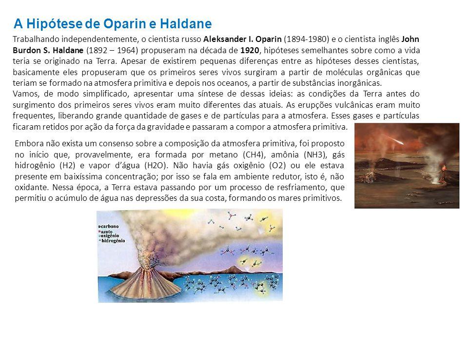 A Hipótese de Oparin e Haldane