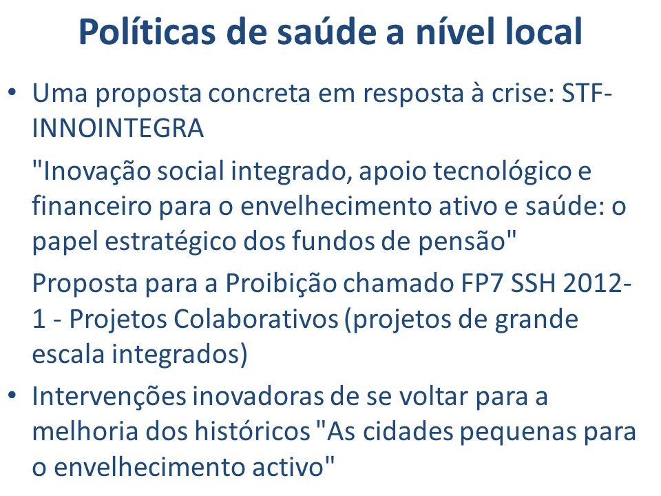 Políticas de saúde a nível local