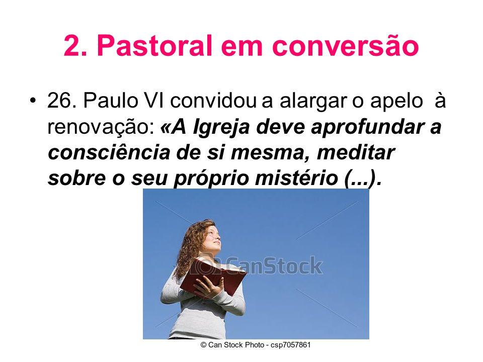 2. Pastoral em conversão