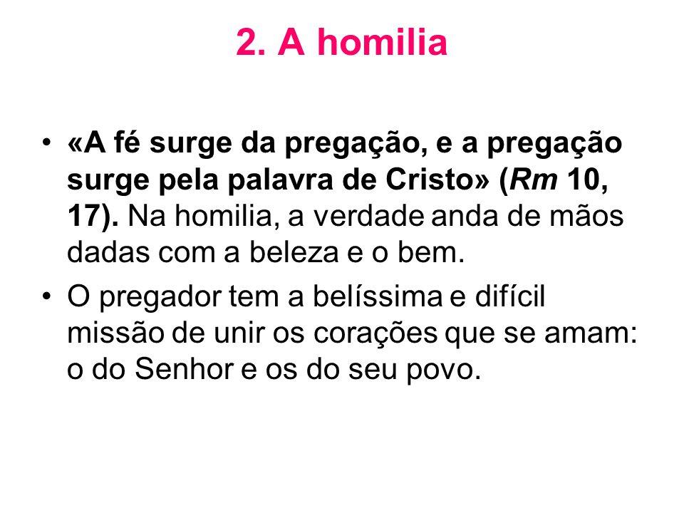 2. A homilia