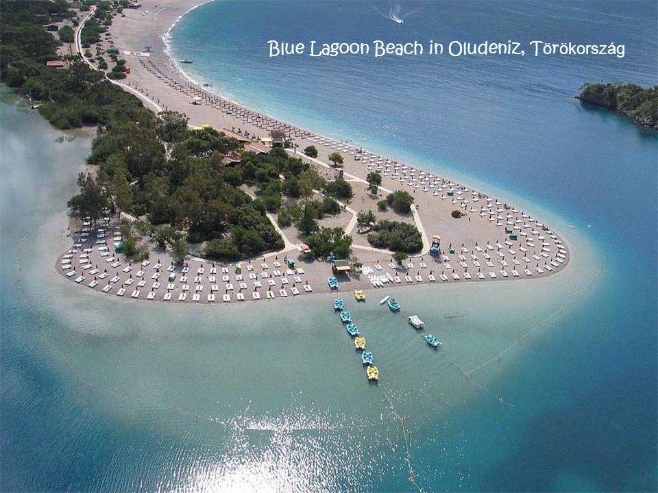 Blue Lagoon Beach in Oludeniz, Törökország